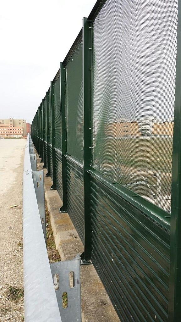 Vinuesa vallas cercados valla de seguridad antivandalica - Valla de seguridad ...