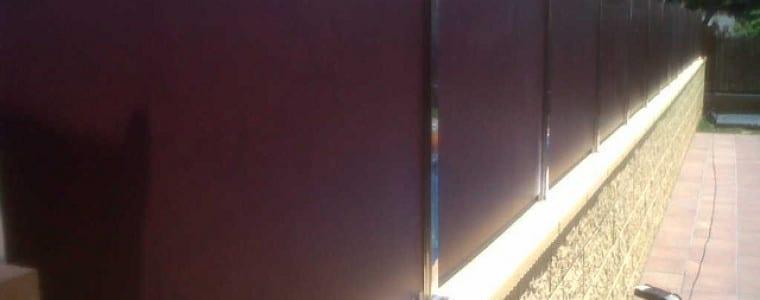Valla ocultacion residencial compacto fenolico plafón troquelado