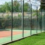 Valla deportiva cercado malla simple torsion tenis