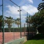 Valla deportiva combinada simple torsion plastificada tenis