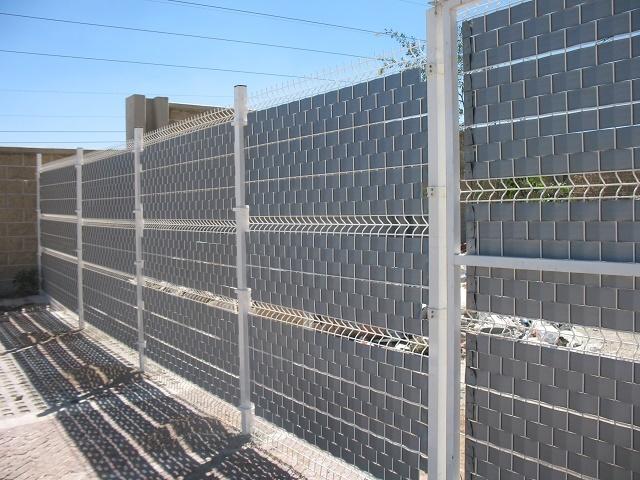 Vinuesa vallas cercados valla electrosoldada con lamas - Vallas para cercados ...