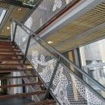 Lacefence escaleras malla de encaje