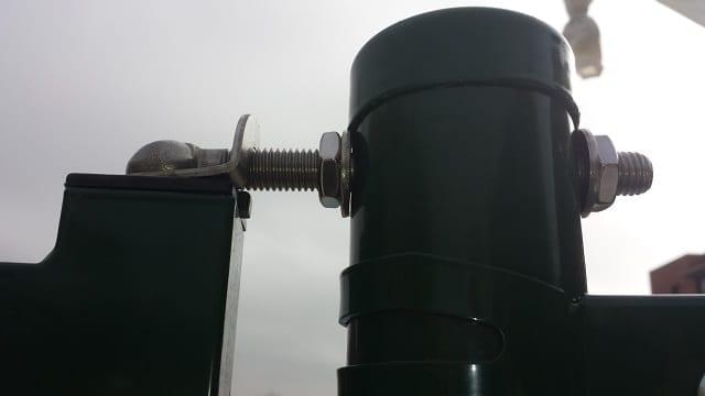 Sistema bisagras puertas metálicas