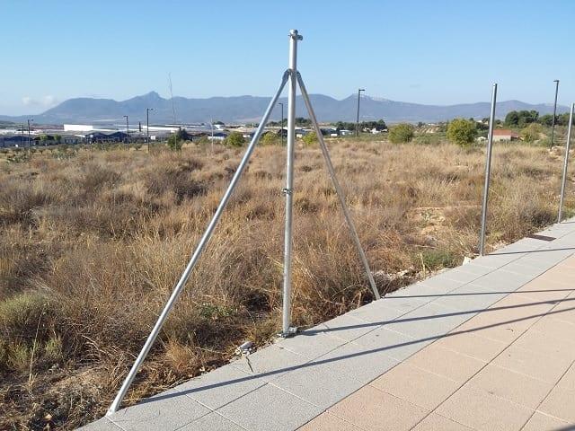 Centro Tensión cercado en Alicante