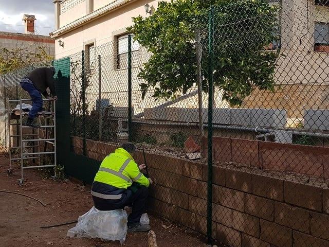 Cercado ocultación Alicante
