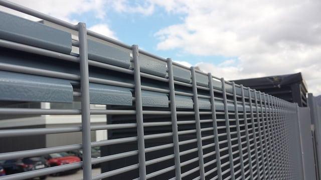 Perfil rigidizador vallado seguridad