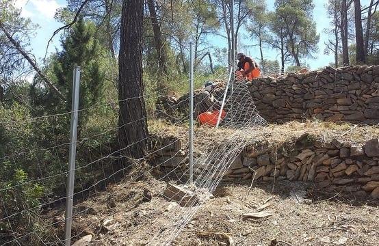 Cerramiento finca santuario animales