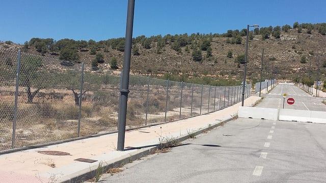 Cercado metálico en Alicante