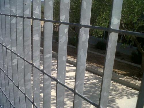 Religa de seguridad de pletina y varilla electrosoldada