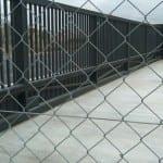 Puerta corredera industrial barrotes