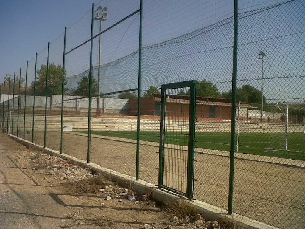 Cerramiento vallado deporte futbol