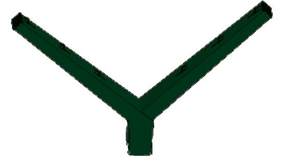 Bayoneta doble para espino