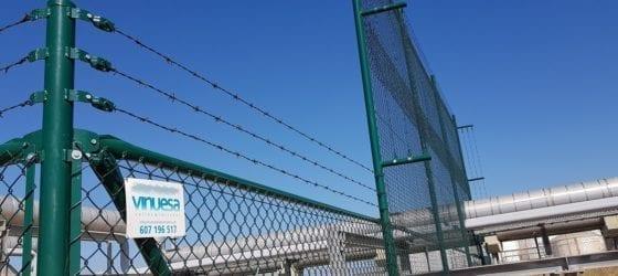 Cercado cerramiento metálico seguridad