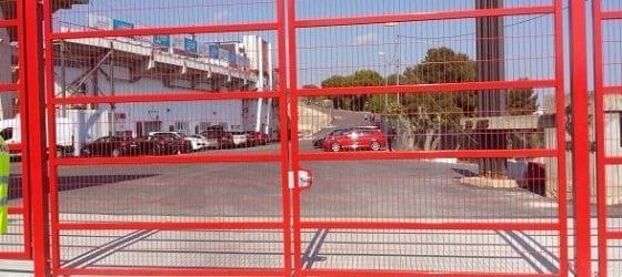 Puertas metálicas para vallas