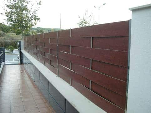 Idea Valla residencial trenzado compacto fenolico vivienda y chalet