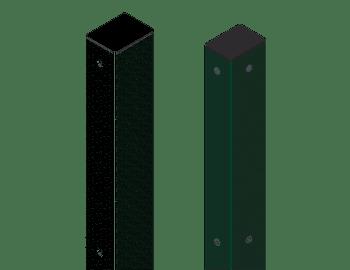 Postes para valla de seguridad